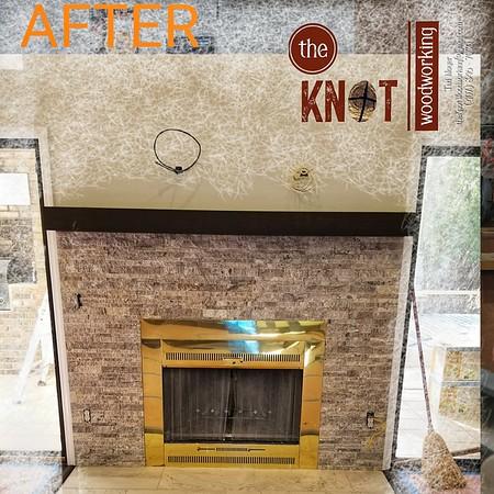 Kona Satin Fireplace Mantle January 2018