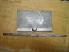 Starrett 493B protractor after Bullfrog Rust Remover treatment