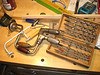 """Pexto 112 12"""" and MF 732-10 10"""" Braces, Italian-made Fret Saw, James Swan Augers (mostly)"""