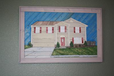 Our House - Slat Art