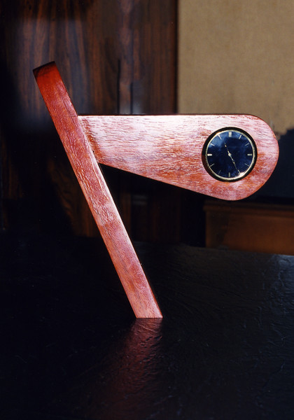 """Slant"" Desk Clock<br /> Front view"