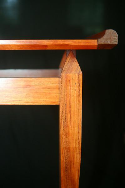 """Sofa Table<br /> Solid Bubinga<br /> 48""""lx10""""wx29""""h"""