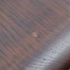 Oil spots in original finish.
