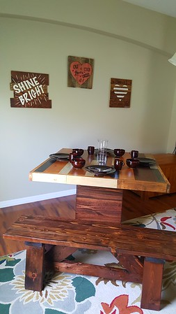 Pallet Wood Dining Table TMWW March 2017