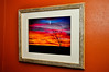 """""""Christmas Sunset #1"""" taken 12-25-11, south of Jamestown, ND on Hwy 281.<br /> <br /> 11"""" x 14"""" Print, 17"""" x 21"""" outside frame size"""