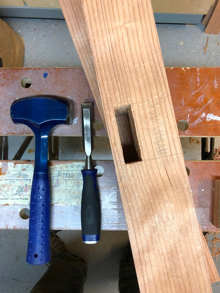 First Mortise