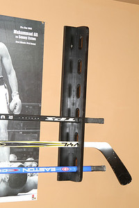 Hockey Stick Holder Side View