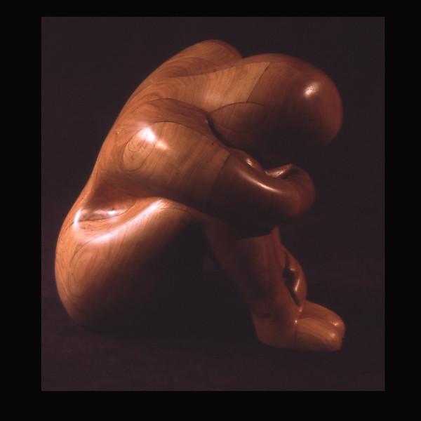 Cherry Wood Sculpture- Solitude