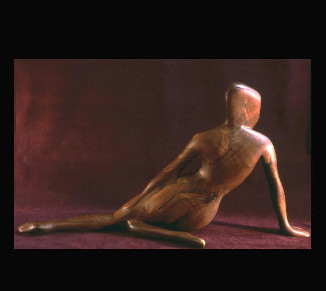 Walnut Wood Sculpture- Christine back
