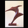 Walnut Wood Sculpture- Dancing Figure