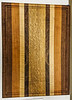 Phil Laudenklos showed his Cutting Board made from several types of wood.  Nov 2019