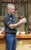 The October Meeting program on band saw boxes was presented by Craig Ruegsegger, Club Member and Deputy Editor of WOOD Magazine.