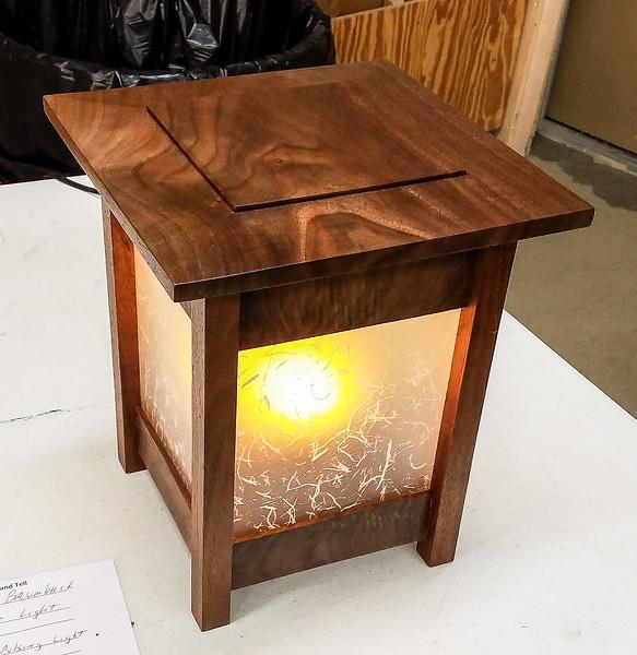 Tom Brumback showed this Neon-Pulsing Flame Light - Jan 2019