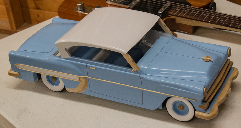 Francis Youngblut made this Model Car - Feb 2017