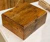 Tom Whalley made this box from old reused wood.  Nov 2017