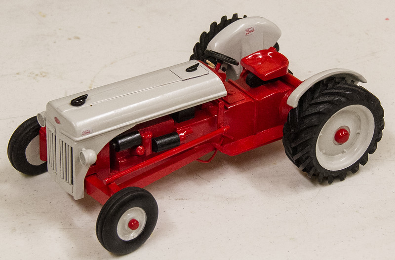 Francis Youngblut made this model Ford Tractor.