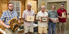 Members representing the Marquetry Workshop participants – Shawn Brown, Bill Fanter, Tom Brumback, Dennis Craig, Ben DeLong – May 2017
