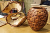 """The November 2019 Meeting presentation was made by Club Member Tom Whalley. He explained how he makes unusual and intricate wood sculptures using a combination of traditional woodworking and wood turning. He calls his approach """"Crossover Woodworking,"""""""
