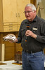 Ron Vander Meyden showed a bandsaw box he made.