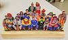 Lynn Clark shared his shrine clowns display - Mar 2019