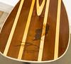 Dale Herzberg made this Canoe Paddle with wood burned Eagle - Feb 2017
