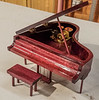 Phil Smith made this Mini Grand Piano Music Box from Purple Heart   Sep 2019