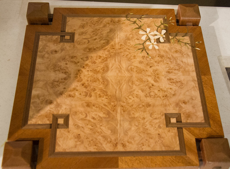 Nationally recognized marquetry expert Paul Scurch made a presentaion at the April 2017 General Meeting.