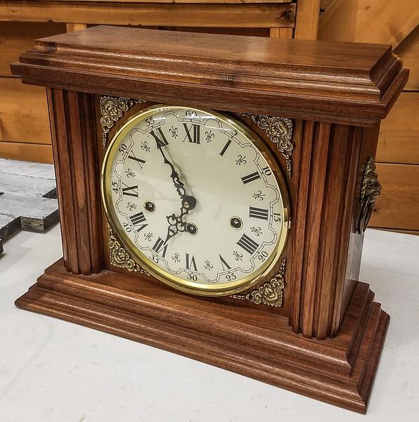 John Doy showed his Mantle Clock  Jan 2020