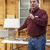 Mark Schillerstrom showed a Lamp he made Jan 2020
