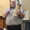 Nathan Burkhalter showed his  Whiskey Flight Board  Jan 2020