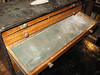 """Typical drawer, 18 1/8 x 5 3/8""""  internal 1 1/8"""" or 2 3/8"""" tall"""