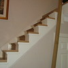"""The baserail is made from white oak. installed by  <a href=""""http://www.harrisonwoodwork.com"""">http://www.harrisonwoodwork.com</a>"""