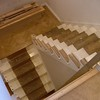"""The old spindles have been removed and the baserail has been installed on each tread. installed by  <a href=""""http://www.harrisonwoodwork.com"""">http://www.harrisonwoodwork.com</a>"""