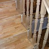 "The treads and risers have been covered with Solid beech. The corners will be covered with polished brass angle section by the customer. installed by  <a href=""http://www.harrisonwoodwork.com"">http://www.harrisonwoodwork.com</a>"