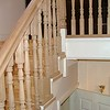 "White Oak Spindles, handrail and newel posts installed by  <a href=""http://www.harrisonwoodwork.com"">http://www.harrisonwoodwork.com</a>"