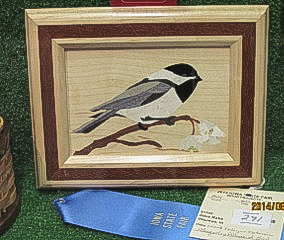 Dave Rabe - 1st place in Other Techniques - Wood Inlay or Intarsia