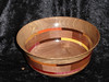 Rich Thompson entered this Walnut and Exotic Segmented Bowl - It won 3rd Place.