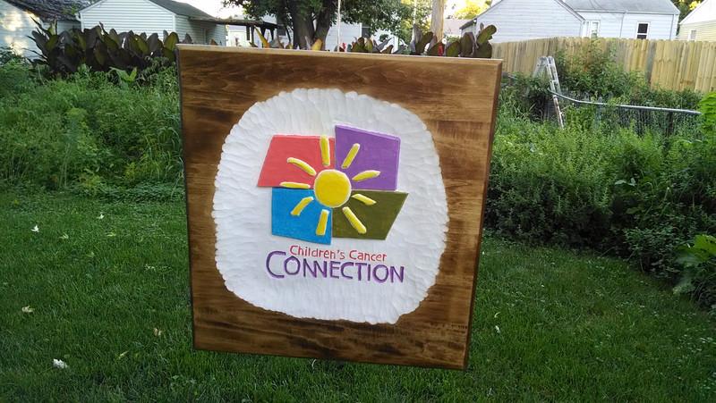 Brenda Rekenthaler entered this Carved Sign.