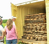 Summer Tour June 11th, 2016 to Bear Creek Hardwoods sawmill near Earlham. It is owned by Club Member Monty Button and his wife, Becky.