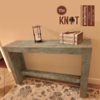 wei chalk paint side table