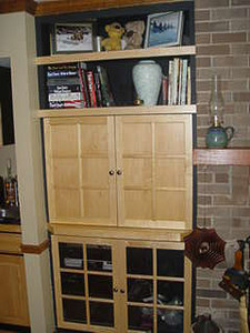 Woodworking items Tom has built