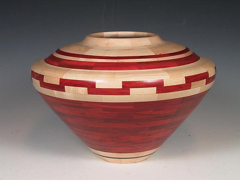 Ben Swartz turned this segmented bowl