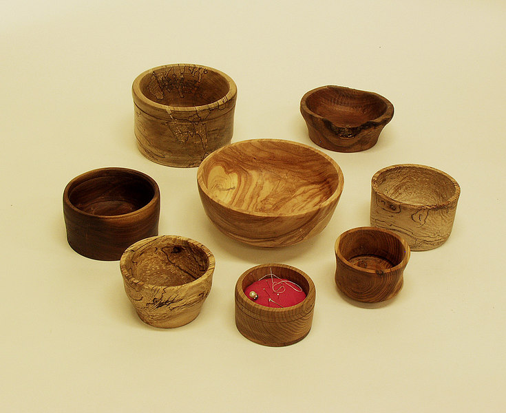 Bill Smith turned these bowls