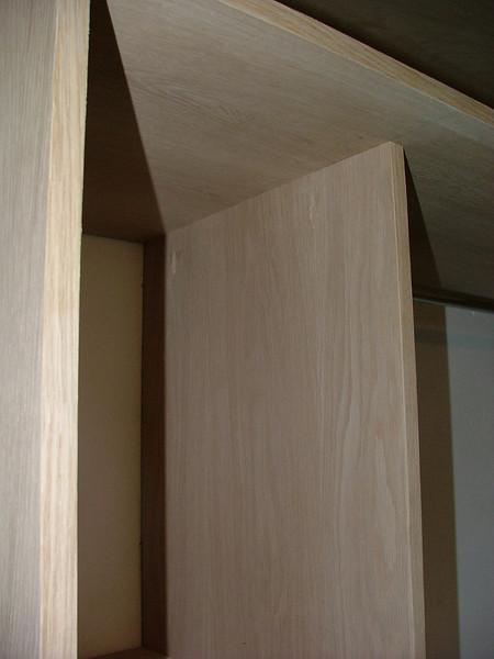 "Custom designed and built, American white Oak Wardrobe units by  <a href=""http://www.harrisonwoodwork.com"">http://www.harrisonwoodwork.com</a> of Urmston Manchester."