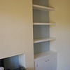 """Custom alcove unit and shelves by  <a href=""""http://www.harrisonwoodwork.com"""">http://www.harrisonwoodwork.com</a>"""