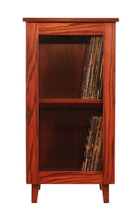 14-Record Cabinet with Records
