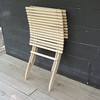 Deck chair nested