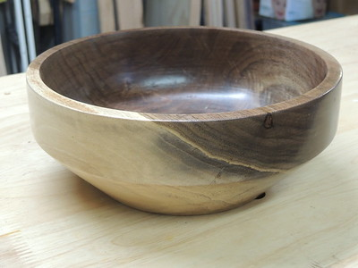 Walnut bowl