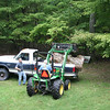 This is the major parts of the tree from Ayr Mount in 2009.   <br /> My son, Erik and I finally decided we needed the tractor to<br /> get it out of the truck.