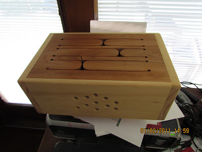 Tongue Box inspired by a video from Woodworking for Mere Mortals.